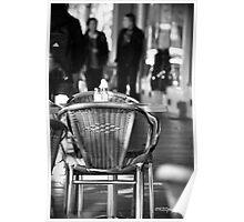 Sidewalk Cafe Poster