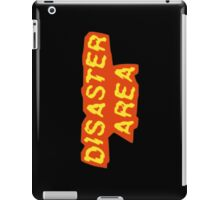 Disaster Area iPad Case/Skin