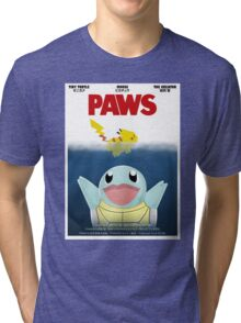 Pokemon Paws Tri-blend T-Shirt
