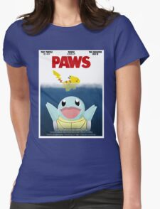 Pokemon Paws Womens Fitted T-Shirt