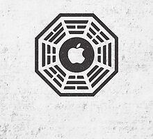 apple dharma logo by Sam Mobbs