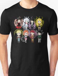 Chibi Team RWBY & JNPR T-Shirt