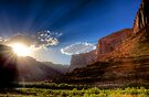 Canyon Sunset by Bill Wetmore
