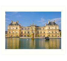 Jardin du Luxembourg, Paris Art Print