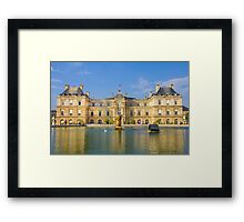 Jardin du Luxembourg, Paris Framed Print