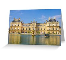 Jardin du Luxembourg, Paris Greeting Card