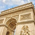 Arc de Triumph, Paris by gianliguori