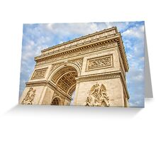 Arc de Triumph, Paris Greeting Card