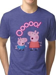 Peppa Pig Ooooo! Tri-blend T-Shirt