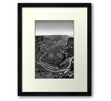 Canyon Road Framed Print