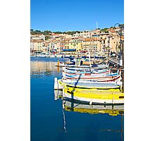 Port of Cassis, France Photographic Print