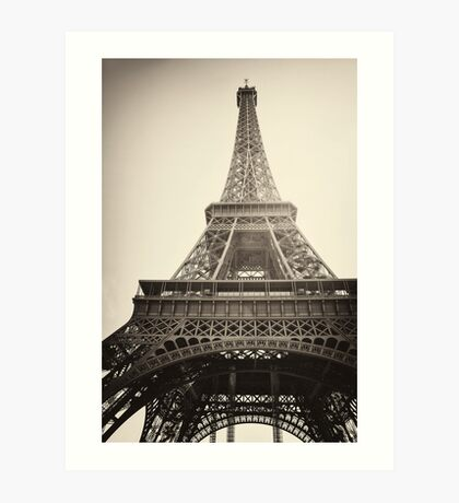 Eiffel Tower, Paris Art Print