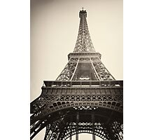 Eiffel Tower, Paris Photographic Print