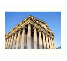The Madeleine church, Paris, France Art Print