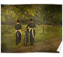 Amish Girls Poster