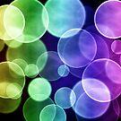 Colorful circular bokeh by gianliguori