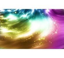 Abstract background with colorful lights Photographic Print