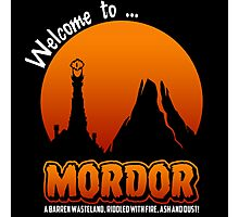 Visit to Mordor Photographic Print