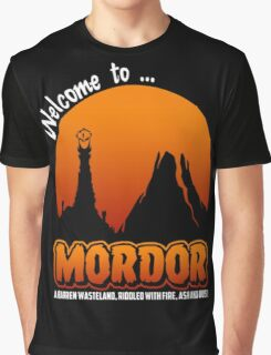 Visit to Mordor Graphic T-Shirt