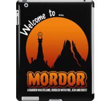 Visit to Mordor iPad Case/Skin