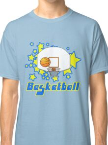 Retro Basketball Design Classic T-Shirt