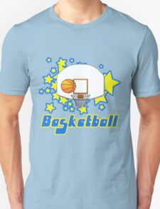 Retro Basketball Design Unisex T-Shirt