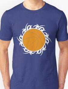 Round Basketball Tribal Unisex T-Shirt