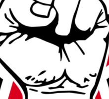 star fist Sticker