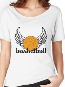 Basketball with Wings Women's Relaxed Fit T-Shirt
