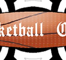 Basketball Chick Tribal Sticker