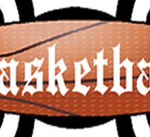 Basketball Tribal Sticker