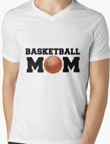 Basketball Mom Mens V-Neck T-Shirt
