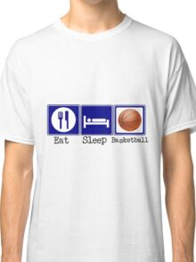 Eat, Sleep, Basketball Classic T-Shirt