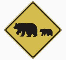 Migrating Bears Sign by SignShop