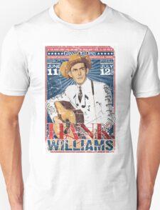 Hank Williams. Country Music. Nashville T-Shirt