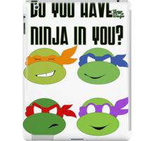 Teenage Mutant Ninja Turtles - TMNT iPad Case/Skin