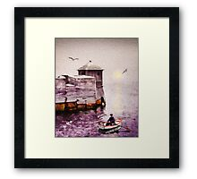 The Dingy Framed Print