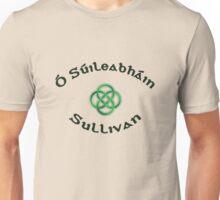 Sullivan Surname 3 - Light Shirts with Celtic Knot Unisex T-Shirt