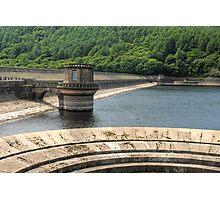 The Dam by Ladybower reservoir Photographic Print
