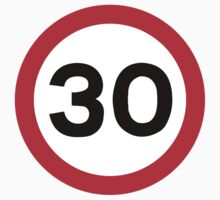 30 Speed Limit	 by SignShop