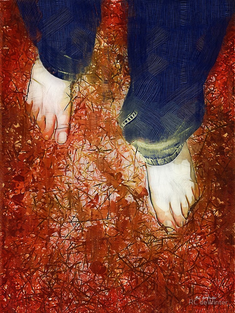 Come Firewalk with Me by RC deWinter