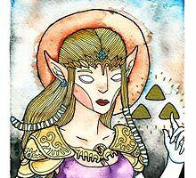 Videogame Babes : Zelda by Jazmine Phillips