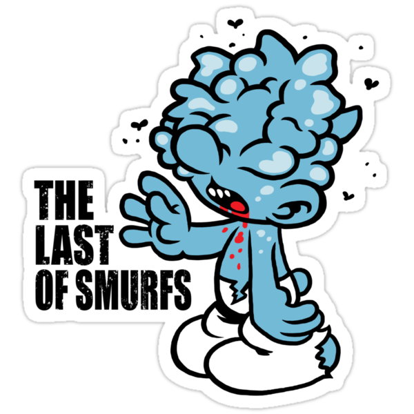 Last of Smurfs by Baznet