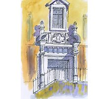 portico igreja de carnaxide Photographic Print