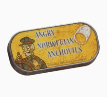 Angry Norwegian Anchovies by kprojekt