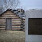 Cabins at Valley Forge by Ren Provo
