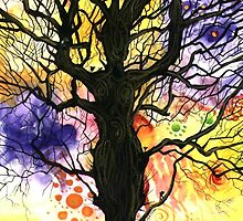 Tree of Life Series - 'Cosmic' by Cherie Roe Dirksen