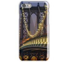 Manhattan Bridge, Study 2 iPhone Case/Skin