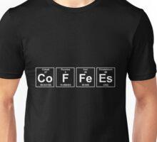 Coffees Elements Unisex T-Shirt