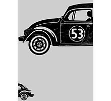 VW Herbie 53 vintage Photographic Print